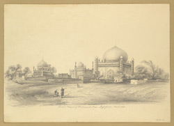 Tomb & Mosque of Mahomed Shah, Beejapore [Bijapur]